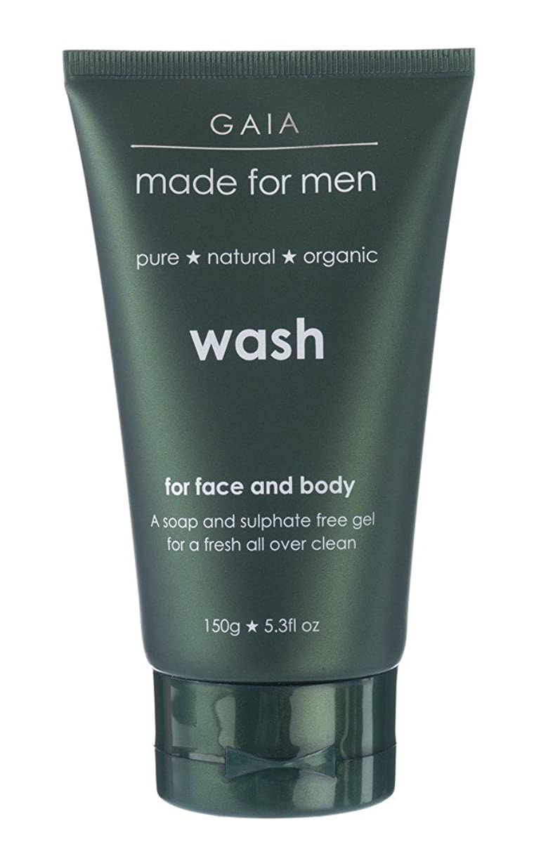 いつでも展望台能力【GAIA】Face & Body Wash made for men ガイア メンズ フェイス&ボディウォッシュ 150g