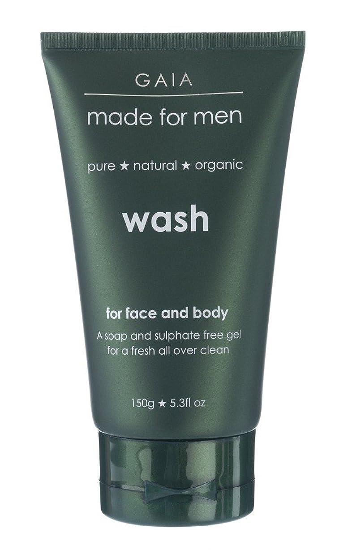 プロフェッショナルバドミントンマリナー【GAIA】Face & Body Wash made for men ガイア メンズ フェイス&ボディウォッシュ 150g 3本セット
