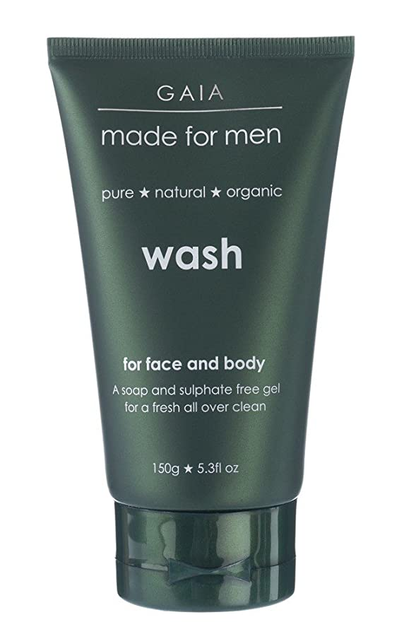 方程式屋内で展望台【GAIA】Face & Body Wash made for men ガイア メンズ フェイス&ボディウォッシュ 150g