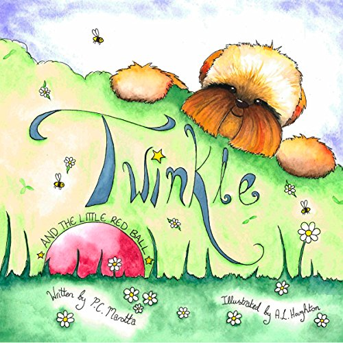 Twinkle and the Little Red Ball audiobook cover art