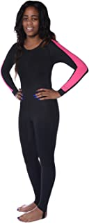 Ivation Womens Wetsuit - Lycra Full Body Diving Suit & Sports Skins for Running, Exercising, Snorkeling, Swimming, Spearfi...