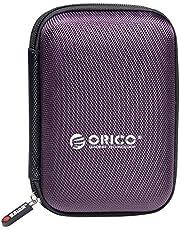 ORICO 2,5 inch harde schijf tas beschermhoes voor Western Digital WD Seagate Toshiba Samsung Intenso, afmetingen 17 cm x 11,5 cm x 3 cm