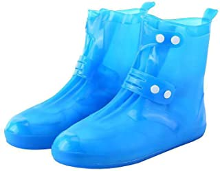 NCONCO Fundas impermeables para zapatos de lluvia, resistentes al deslizamiento, para ciclismo, camping, pesca, jardín