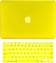 TOP CASE - 2 in 1 Signature Bundle Rubberized Hard Case and Keyboard Cover Compatible MacBook Air 11