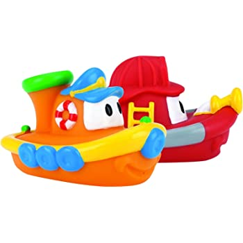 Alex Magnetic Boats in the Tub Children/'s Vinyl Boats Bath Toy