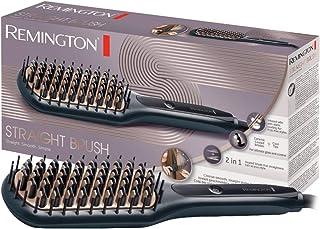 Remington CB7400 - Cepillo Alisador, Cerámica Avanzada Antiestática, 2 en 1 Cepilla y Alisa