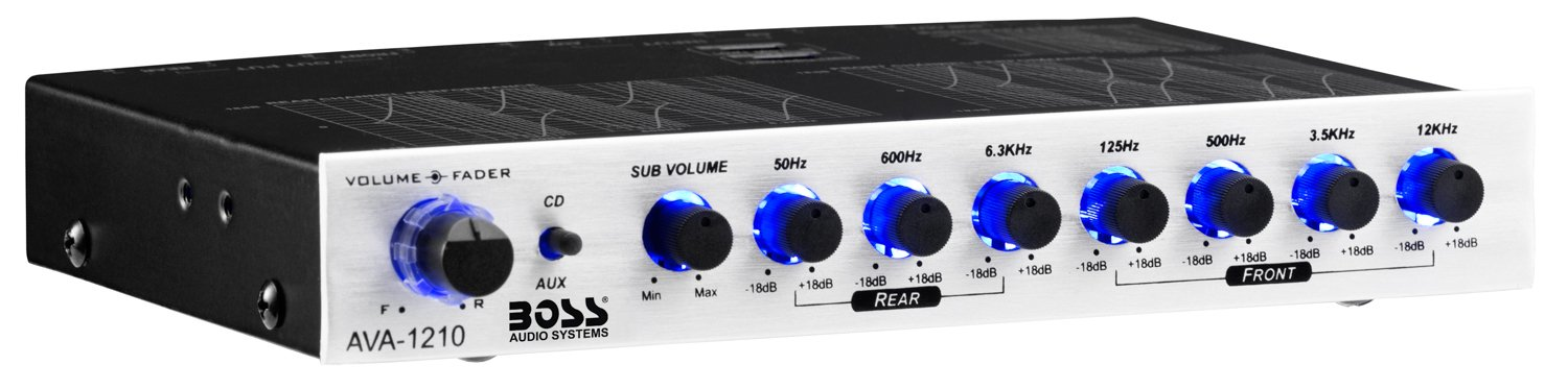 BOSS Audio AVA1210 Equalizer Gold Plated