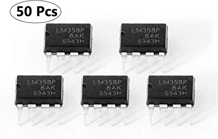 50Pcs Operational Amplifier 8Pin LM358P LM358N LM358 Dip Ic