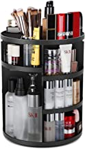 TOUARETAILS Adjustable 360 Degree Rotating Adjustable Cosmetic Makeup Storage Holder Organizer Box- Multi Color