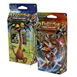 Pokemon Sun & Moon Forbidden Light Alolan Exeggutor & Lycanroc Set of Both Theme Decks