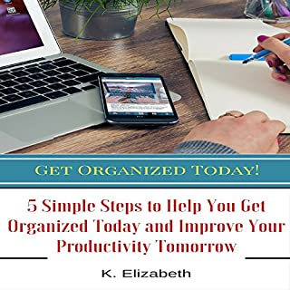 Get Organized Today! audiobook cover art
