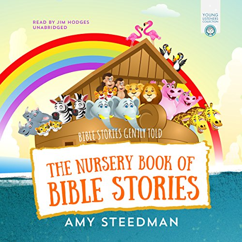 The Nursery Book of Bible Stories audiobook cover art