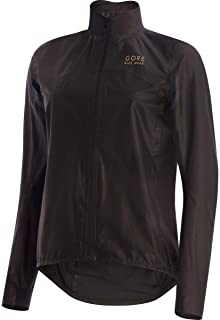 GORE BIKE WEAR Women's Cycling Jacket, Super light, Waterproof, GORE TEX-Active SHAKEDRY, ONE LADY GORE-TEX SHAKEDRY Jacket, Size: 34, Black, JLPORO