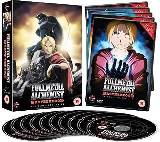 Fullmetal Alchemist Brotherhood - Complete (5 Dvd) [Edizione: Regno Unito] [Edizione: Regno Unito]