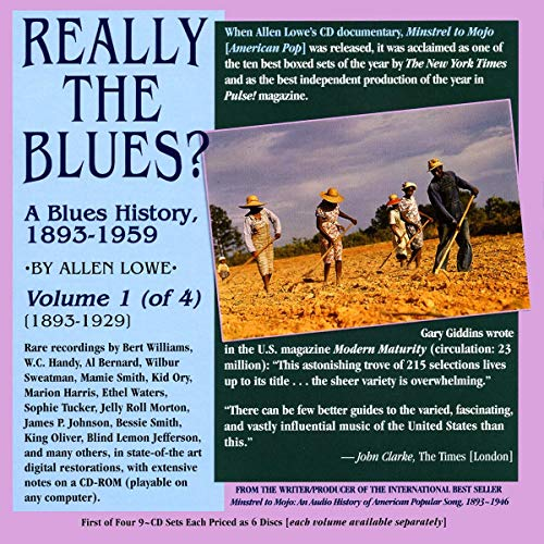 Smith/Ory/Tucker/Blind Melon Jefferson. : Really The a Blues History, 1893-1929 Vol.1