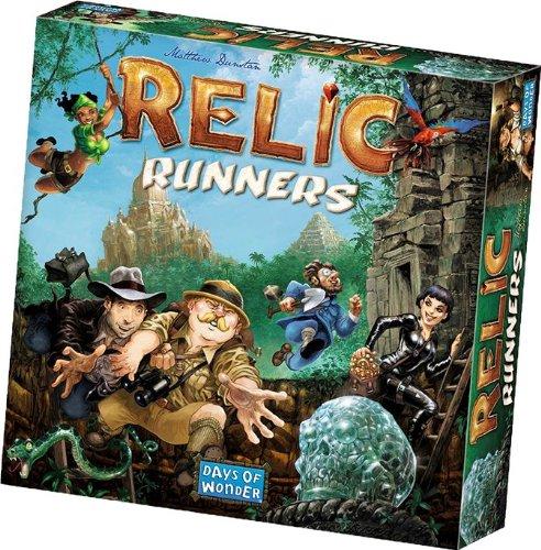 Days of Wonder 878361 - Relic Runners, Brettspiel