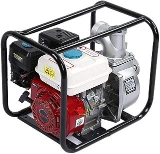 Gas Gasoline Water Pump, 3in Petrol Gasoline Water Transfer Pump 6.5HP 7m Garden Irrigation Swimming Pool Cleaning Pump