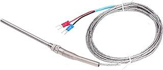 Sonda do sensor de temperatura, termopar tipo K resistente ao desgaste em aço inoxidável para transmissor digital para ins...