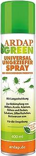 ARDAP GREEN Spray 400ml – Natürliches Ungeziefermittel mit Kieselgur, Hocheffektiv..