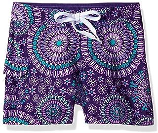 Kanu Surf Big Girls' Melanie Boardshort Purple Medium (8/10) [並行輸入品]