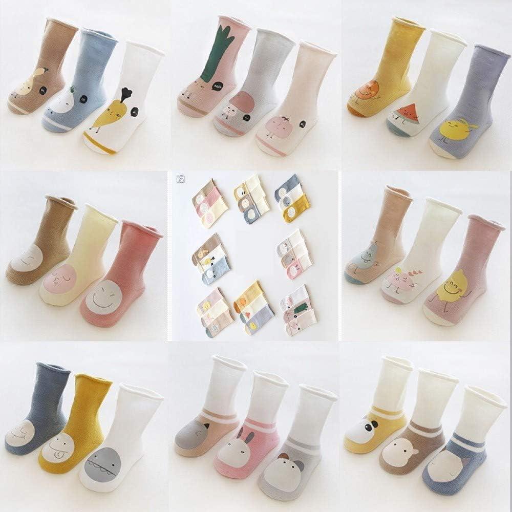 Nemo Baby Unisex Baby Girl Boy Newborn Organic Cotton Knee High Socks Shower Gift All seasons (pack of 3)