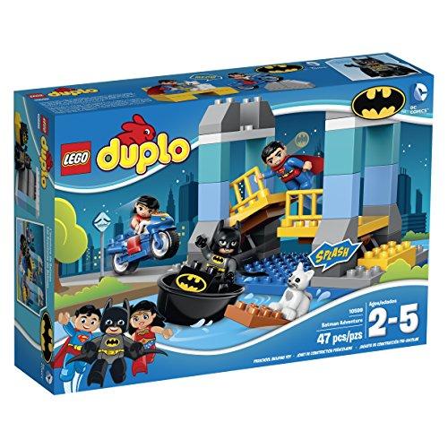 LEGO DUPLO Super Heroes 10599 Batman Adventure Building Kit by LEGO