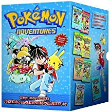 Pokemon Adventures Red & Blue Box Set (set includes Vol. 1-7) by Hidenori Kusaka (Aug 7 2012)