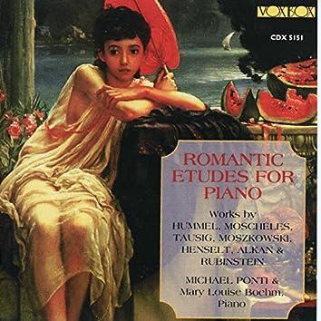 Romantic Études for Piano