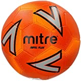 Mitre Impel Plus Ballon de Football Mixte Adulte, Orange/Argent/Orange, Taille 4