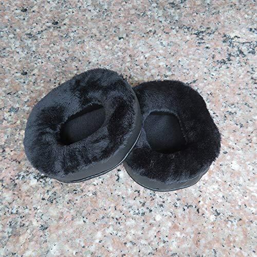 Replacement Earpads, Velvet Replacement Earpads for Denon AH D320 AH-D320 Headphone Replacement Parts Ear Cushions - (Color: Earpads)