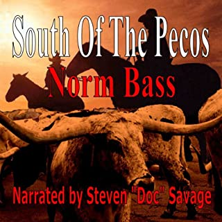 South of the Pecos audiobook cover art