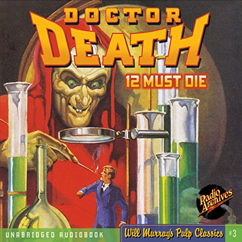 Doctor Death #1, February 1935 audiobook cover art