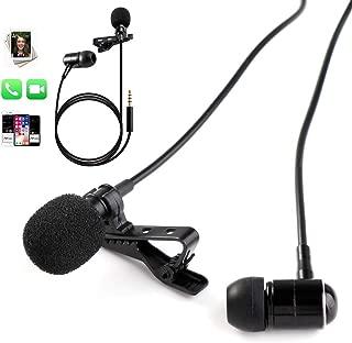 PoP voice One-Piece Design Lavalier Microphone with...