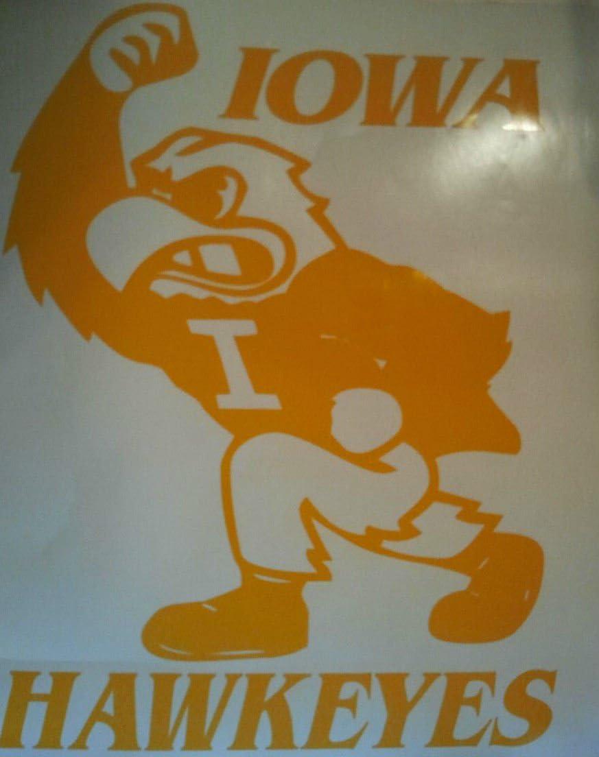 Popular overseas New Iowa State Hawkeyes Popular brand - Cornhole Decals 2
