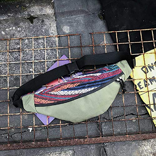 pyc88 Sac Crossbody Sac D'épaule Sac Messenger Sac Japonais Rétro Simple Hommes Et Femmes Sac à Dos De Toile Fille Petit Sac à Dos Vert