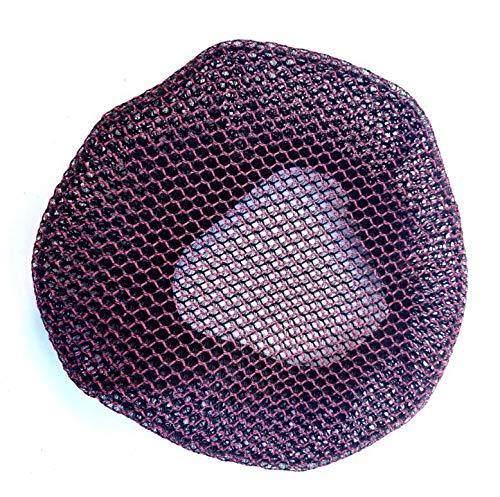 ReooLy Cubierta de Asiento de Malla de Bicicleta Funda de cojín Protector Solar Aislamiento Cubierta de Asiento Transpirable(Púrpura)