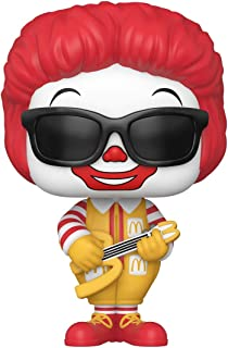 Funko Pop! Ad Icons: McDonald's - Rock Out Ronald Multicolor, 3.75 inches