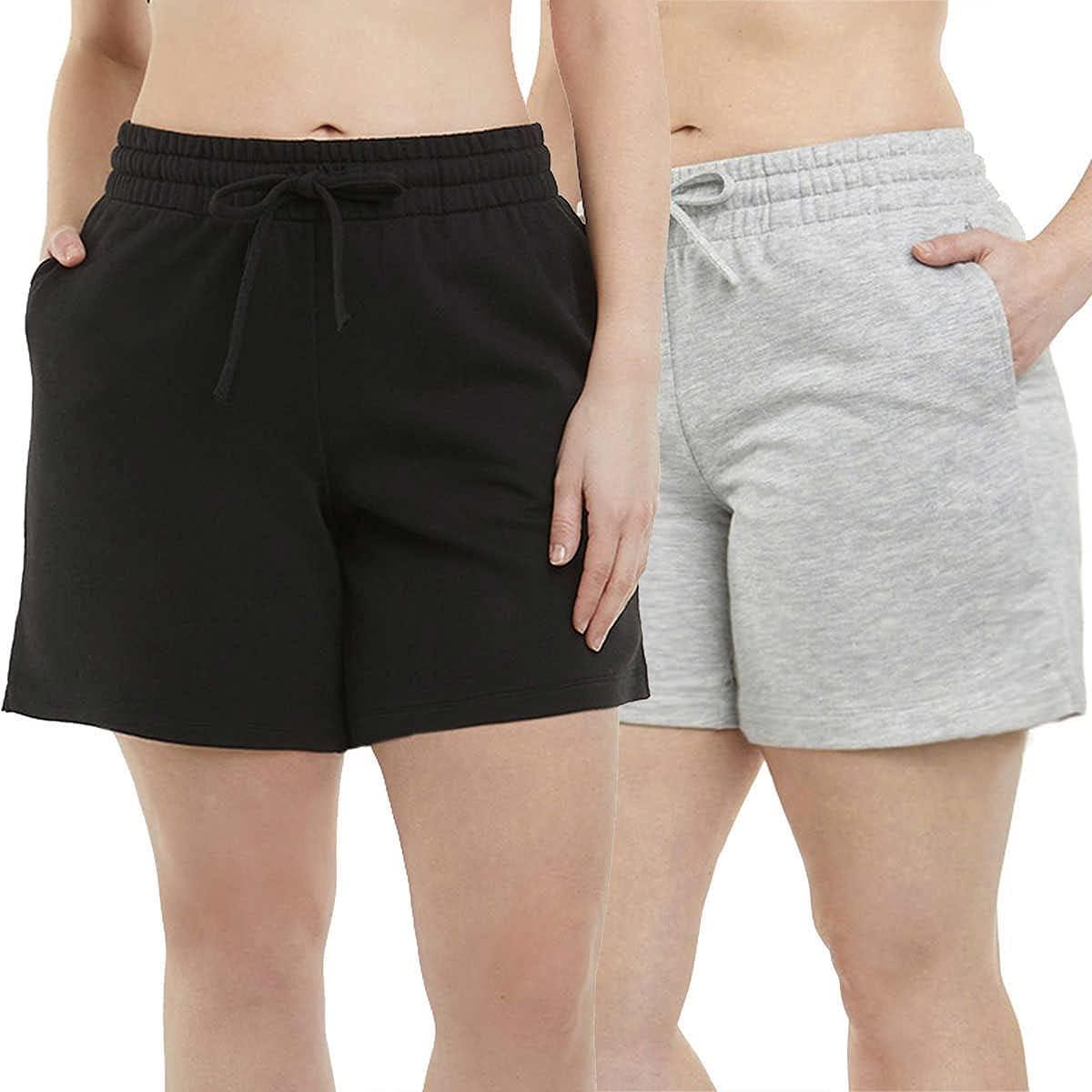 Danskin Womens 2-Pack Soft Active Short