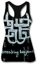 BRE-ak Logo Ben-jam Women's Tank Top Printed Summer Workout Training Tanktops Casual Shirts