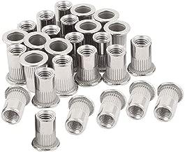 40pcs 10-24 Rivet Nuts Threaded Insert Nutsert Rivnuts Stainless Steel 10-24UNC