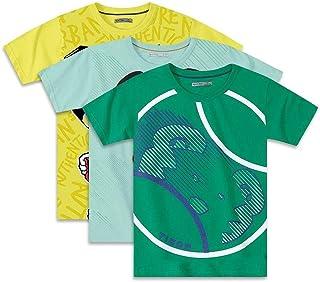 Kit Camisetas Tigor T. Tigre Collection Infantil