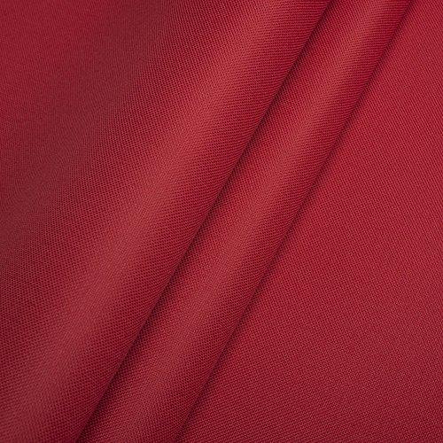 Polyester Oxford 600D 1lfm - Wasserdicht, Outdoor Stoff, Segeltuch, Abdeckplane (Rot)