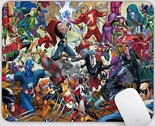 Mouse Pad Gaming Non-Slip Avengers Catoon Rubber Mousepad for Laptop and Computer Desk Accessories Mouse Mat Office Supplies