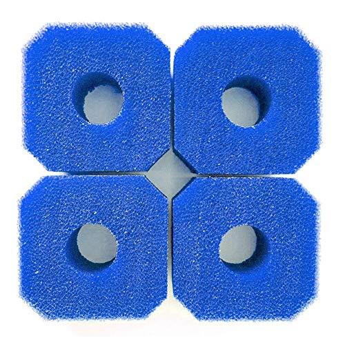 Stronrive Pool Schwammfilter 4PCS Filterschwamm Waschbarer Filterkartuschen-Schwamm Spa Filter Spa-Zubehör für V1 S1 Whirlpool Schwimmbad Spa
