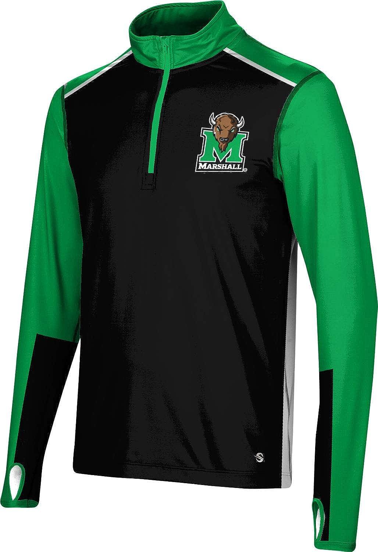 ProSphere List price Marshall University Men's Quarter - Sleeve Zip Ranking TOP6 Long Co
