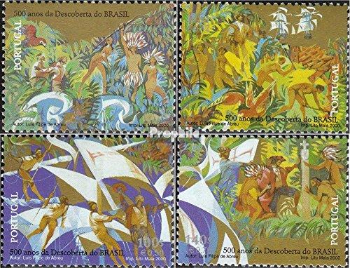 Prophila Collection Portugal 2426-2429 (kompl.Ausg.) 2000 Entdeckung v. Brasilien (Briefmarken für Sammler)