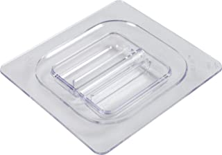 San Jamar CI7111L Chill-It 1/6 tapa estándar para sartén de alimentos, transparente
