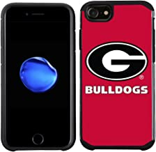 Prime Brands Group Textured Team Color Cell Phone Case for Apple iPhone 8/7/6S/6 - NCAA Licensed University of Georgia Bulldogs