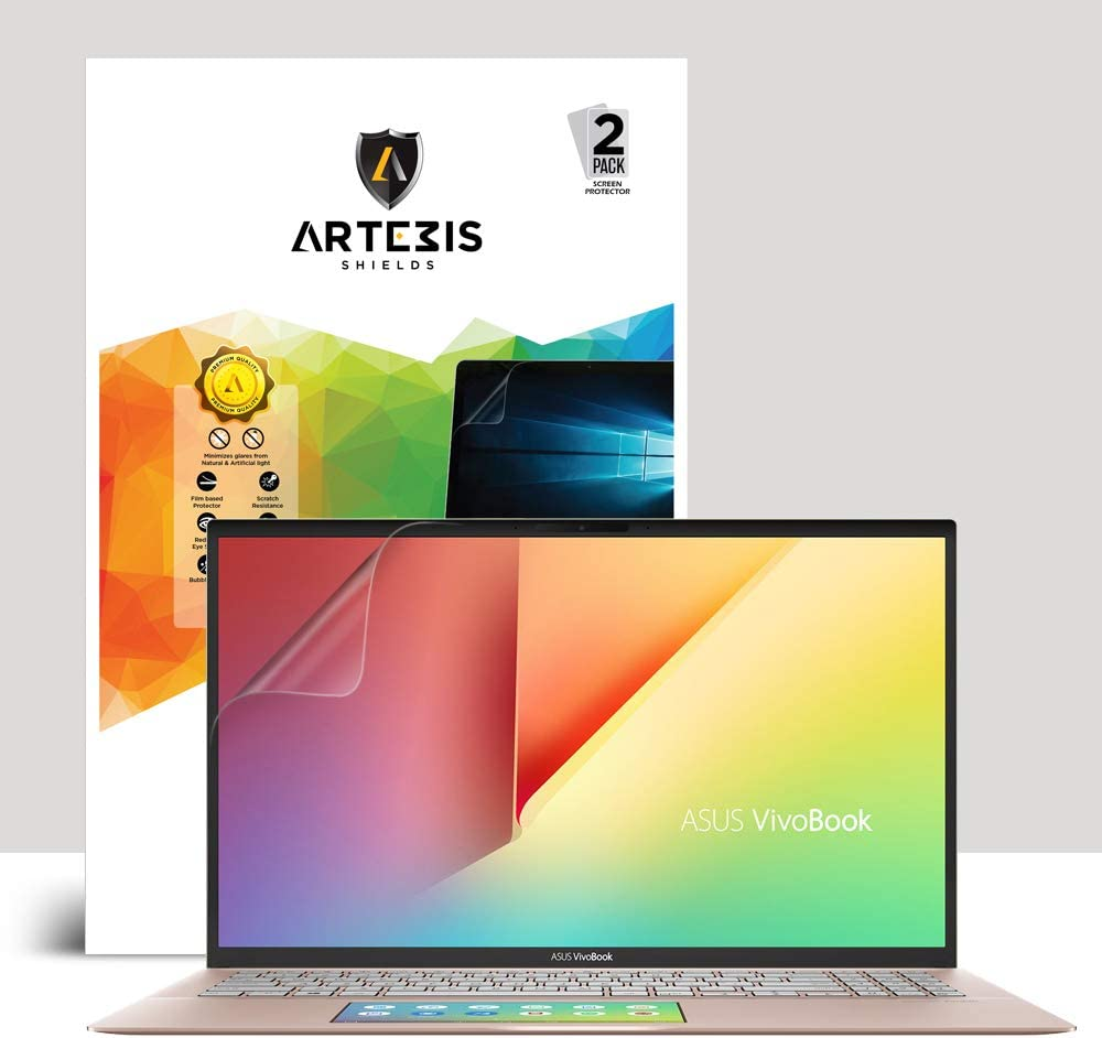 Anti Glare Matte Screen Protector With Full Screen for ASUS VivoBook S15 S532FL (2019) BY Artemis Shields [2 Pack]