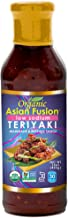 Asian Fusion Low Sodium Teriyaki Sauce, 15 Ounce - Non-GMO, Organic Certified, Kosher & Gluten Free